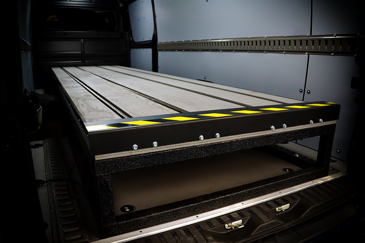 About The Pallet Loading System for the Mercedes Benz Sprinter
